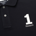 Мужской лонгслив Hackett Classic Winter Navy фото- 2