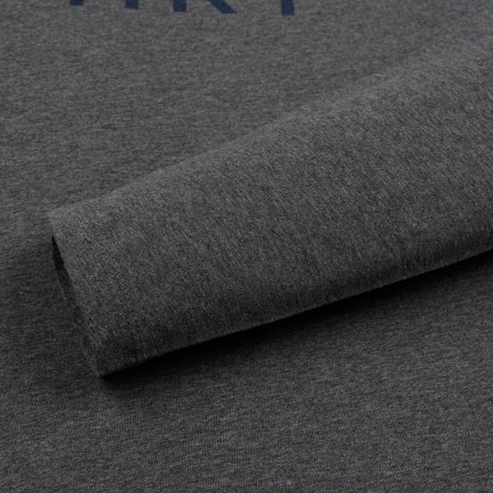 Мужской лонгслив Hackett Logo HKT Dark Grey Marl