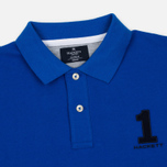 Мужской лонгслив Hackett New Classic LS Polo Electric Blue фото- 1