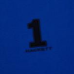 Мужской лонгслив Hackett New Classic LS Polo Electric Blue фото- 2