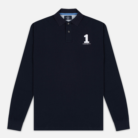 Hackett New Classic LS Polo Men's Longsleeve Navy