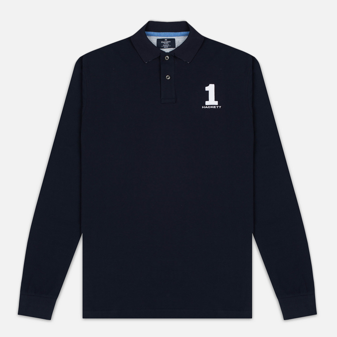 Мужской лонгслив Hackett New Classic LS Polo Navy