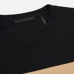 Мужской лонгслив Helmut Lang Band Logo Black/Camel фото- 1