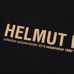 Мужской лонгслив Helmut Lang Band Logo Black/Camel фото- 3