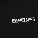 Мужской лонгслив Helmut Lang Dart Back Crew Black фото- 2