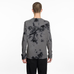Мужской лонгслив Helmut Lang Dart Back Crew Grey/Black фото- 5