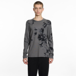 Мужской лонгслив Helmut Lang Dart Back Crew Grey/Black фото- 4