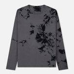 Мужской лонгслив Helmut Lang Dart Back Crew Grey/Black фото- 0