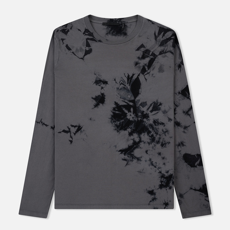 Мужской лонгслив Helmut Lang Dart Back Crew Grey/Black