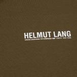 Мужской лонгслив Helmut Lang Dart Back Crew Military фото- 2