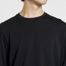 Мужской лонгслив Helmut Lang Overlay Logo Black фото- 3