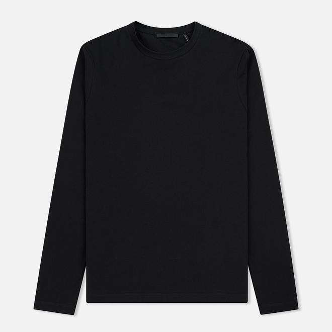 Мужской лонгслив Helmut Lang Overlay Logo Black
