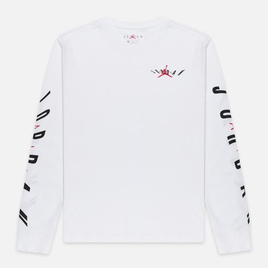 Мужской лонгслив Jordan Air Swerve White