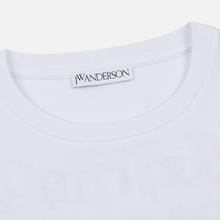 Мужской лонгслив JW Anderson Eyes Printed White фото- 1