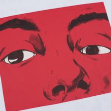 Мужской лонгслив JW Anderson Eyes Printed White фото- 2