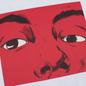 Мужской лонгслив JW Anderson Eyes Printed White фото - 2