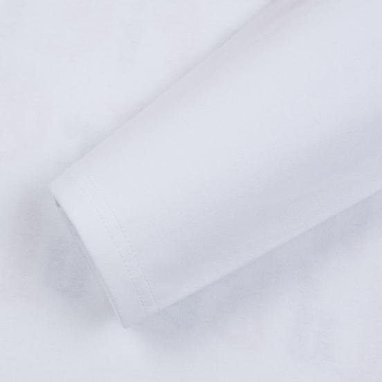 Мужской лонгслив JW Anderson Eyes Printed White