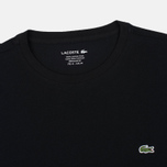 Мужской лонгслив Lacoste Round Neck LS Black фото- 1