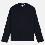 Мужской лонгслив Levi's Crew Neck Long Sleeve Black фото- 0