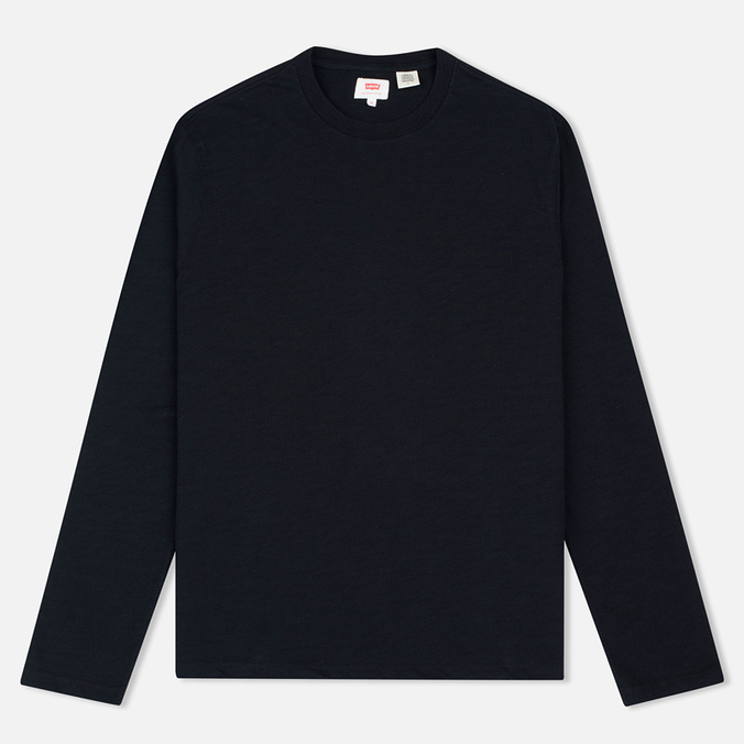Мужской лонгслив Levi's Crew Neck Long Sleeve Black