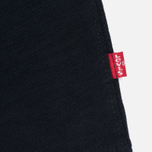 Мужской лонгслив Levi's Crew Neck Long Sleeve Black фото- 3