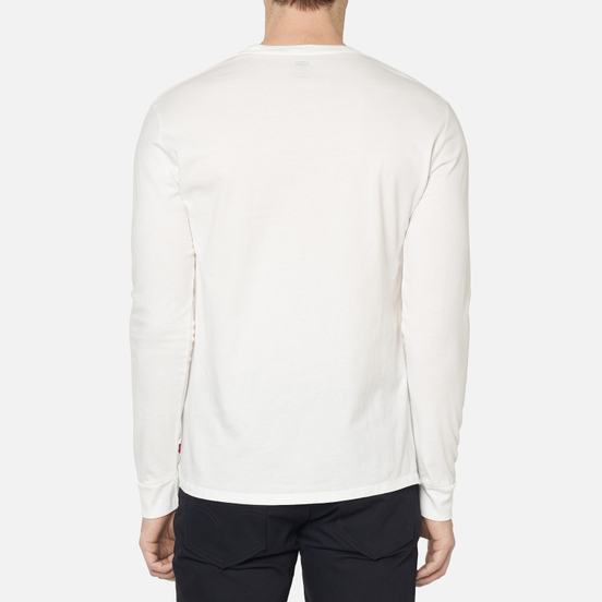 Мужской лонгслив Levi's Graphic Better White