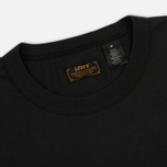 Мужской лонгслив Levi's Skateboarding LSC Team Graphic Black/Tan фото- 1
