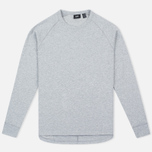 Мужской лонгслив Levi's Commuter Raglan Grey Heather фото- 0
