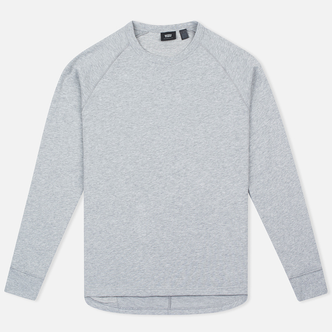 Мужской лонгслив Levi's Commuter Raglan Grey Heather
