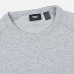 Мужской лонгслив Levi's Commuter Raglan Grey Heather фото- 1
