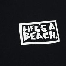 Мужской лонгслив Life's a Beach Rats Black фото- 2