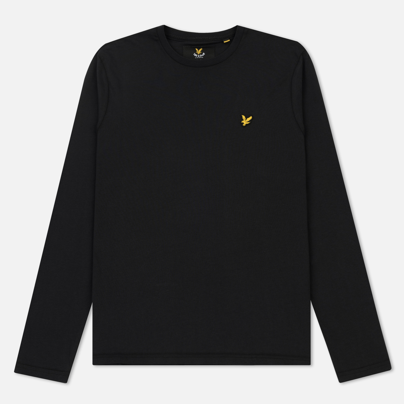 Мужской лонгслив Lyle & Scott Crew Neck True Black