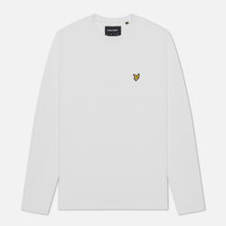 Мужской лонгслив Lyle & Scott Crew Neck White