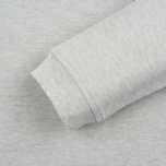 Мужской лонгслив Lyle & Scott LS Polo Light Grey Marl фото- 3