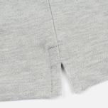 Мужской лонгслив Lyle & Scott LS Polo Light Grey Marl фото- 4