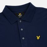 Мужской лонгслив Lyle & Scott LS Polo Navy фото- 1