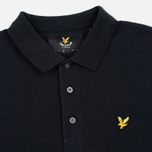 Мужской лонгслив Lyle & Scott LS Polo True Black фото- 1
