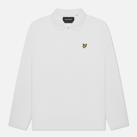 Мужской лонгслив Lyle & Scott LS Polo White