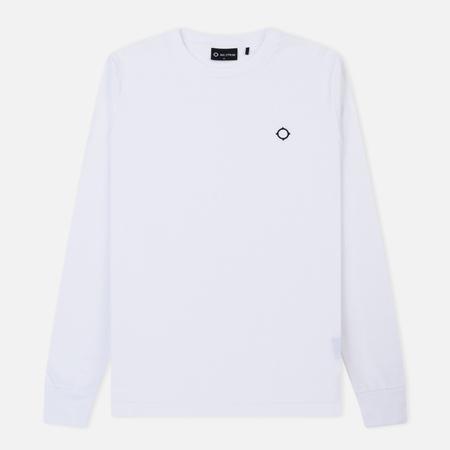 Мужской лонгслив MA.Strum Icon Regular Optic White