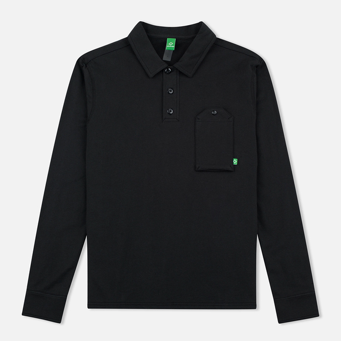 Мужской лонгслив MA.Strum Jersey Pocket Polo Jet Black