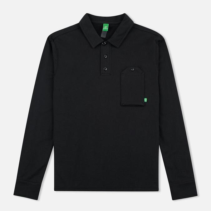 Мужской лонгслив MA.Strum Jersey Pocket Polo Jet Black