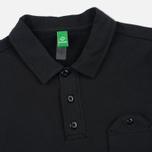 Мужской лонгслив MA.Strum Jersey Pocket Polo Jet Black фото- 1
