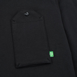 Мужской лонгслив MA.Strum Jersey Pocket Polo Jet Black фото- 2