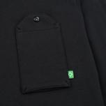 Мужской лонгслив MA.Strum Jersey Pocket Polo Jet Black фото- 2