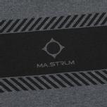 Мужской лонгслив MA.Strum LS Crew Graphic Charcoal Melange фото- 2