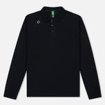 Мужской лонгслив MA.Strum LS Kit Issue Pique Polo Jet Black фото- 0