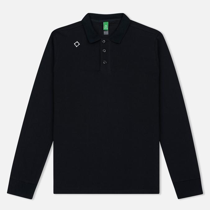 Мужской лонгслив MA.Strum LS Kit Issue Pique Polo Jet Black