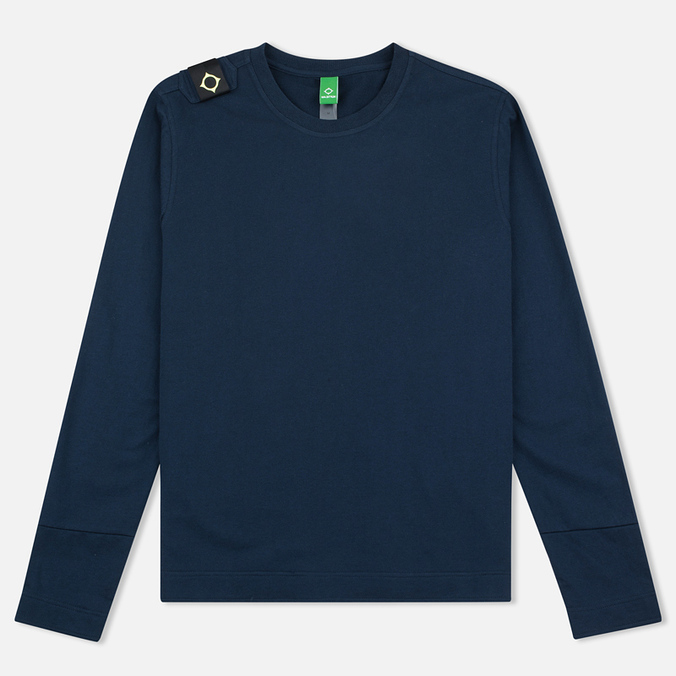 Мужской лонгслив MA.Strum LS Loopback Jersey Crew Dress Blues