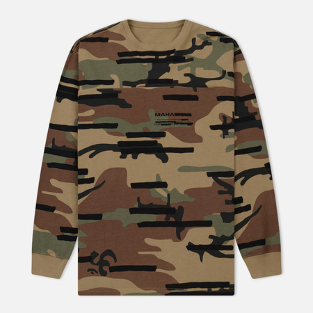 Мужской лонгслив maharishi Camo Pocket Woodland