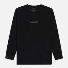 Мужской лонгслив maharishi Organic Military Type Embroidery Black фото- 0